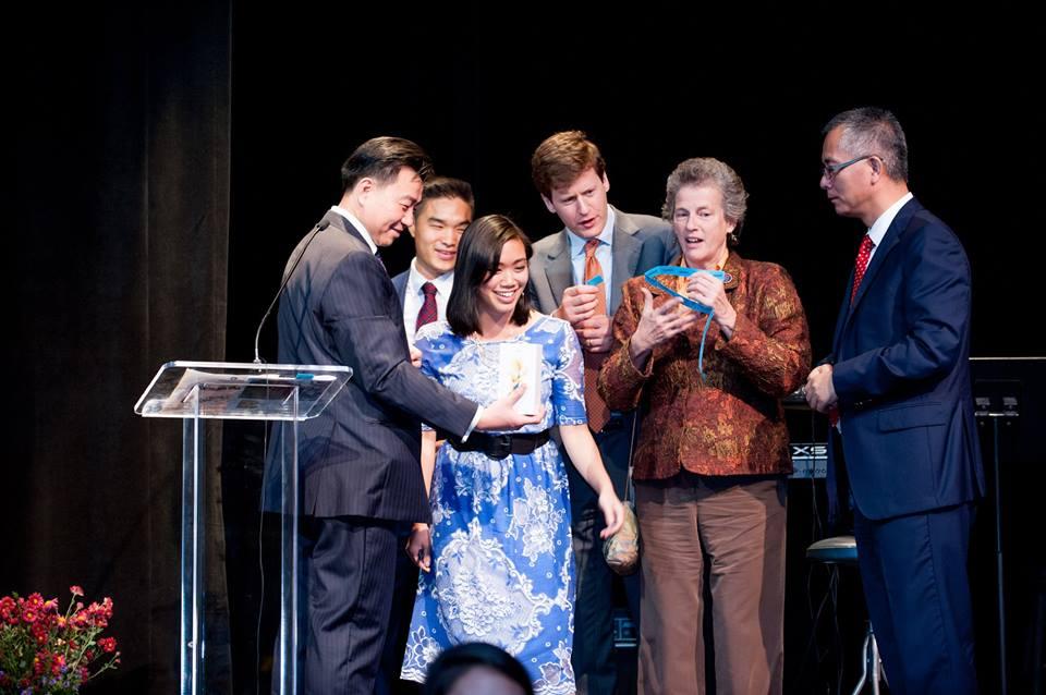 Chamber of Commerce awarding