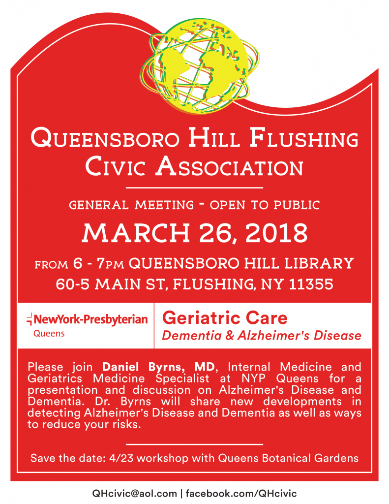 QHCivic March Meeting