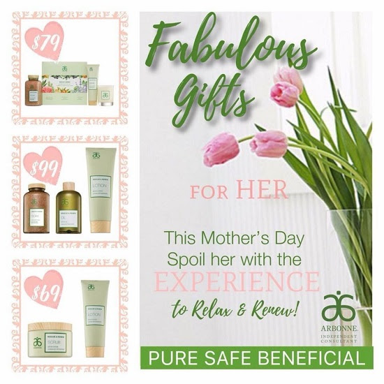Arbonne Rescue Renew Spa Gift For Mothers Day Greater Flushing