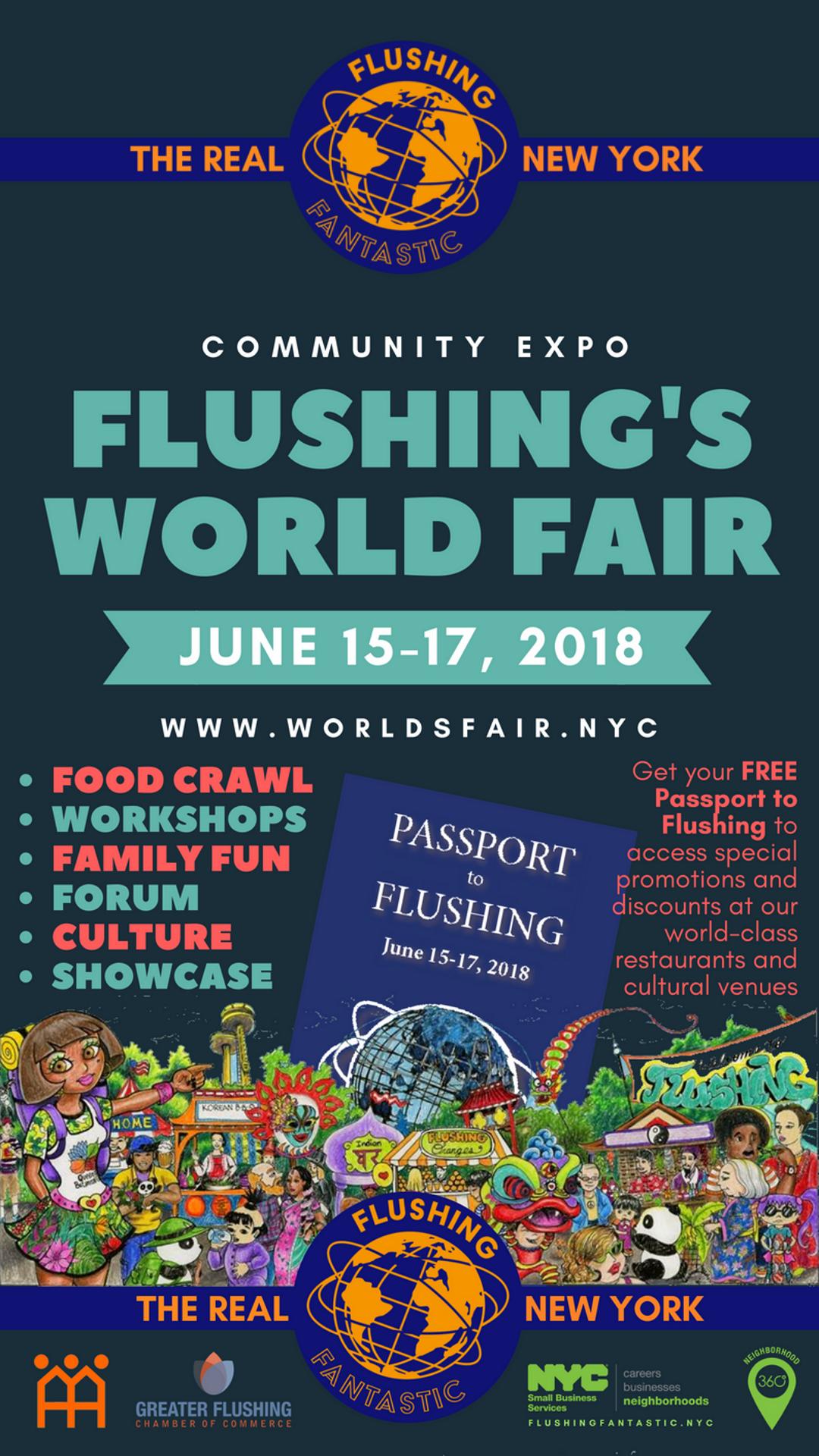 Flushing's World Fair 2018(yellow)